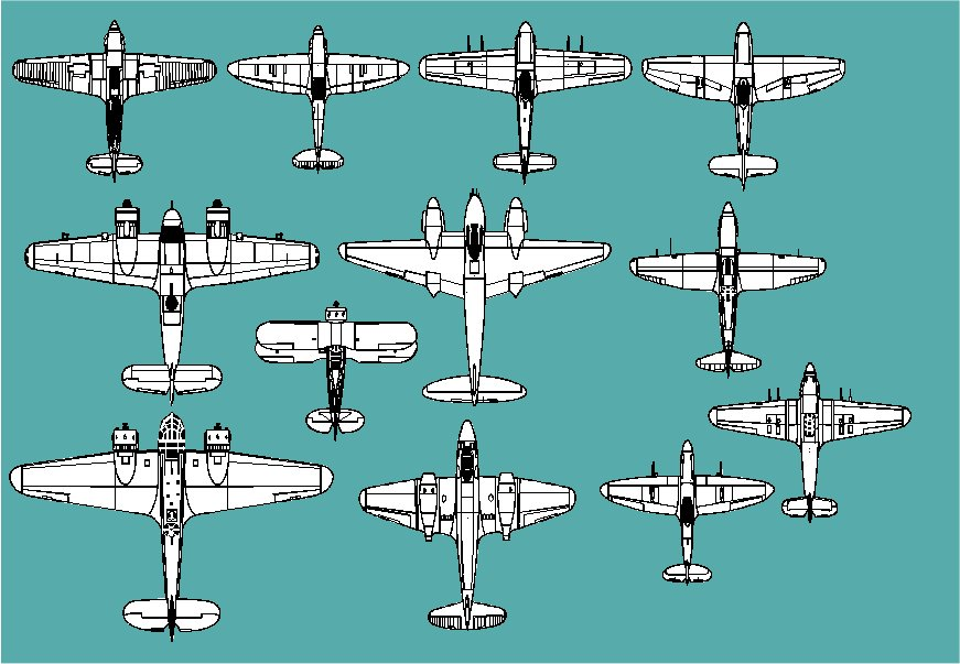 British Fighters Of World War 2 (Combat aircraft l