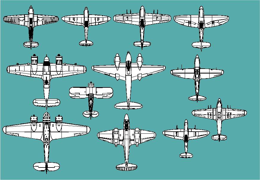 British Fighters Of World War 2 (Combat aircraft l